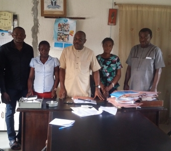 Consultative Engagement With Isoko South L.G.A Leadership, W.A.S.H Unit and Isoko South Chapter of PLWDs Excos in Oleh Community For Sensitization On ICD/EU W.A.S.H Project Implementation In Isoko South LGA Of Delta State